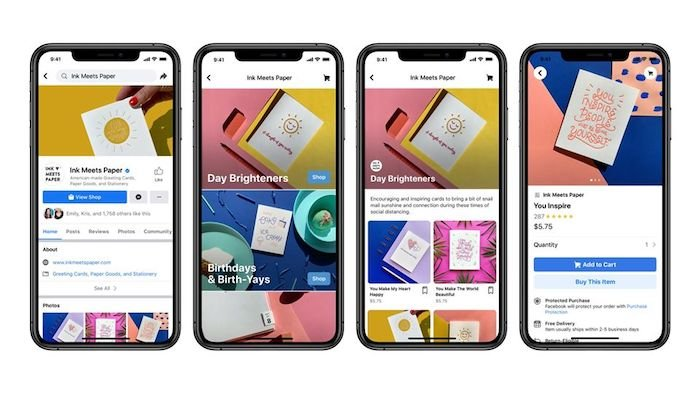 Facebook is pushing into e-Commerce with Facebook Shops